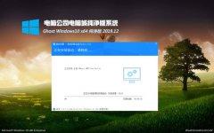 电脑公司Windows10 v2019.12 64位 精心纯净版